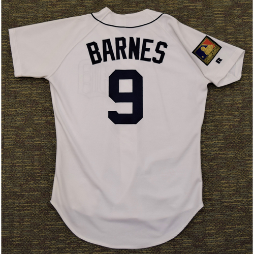 Skeeter Barnes Detroit Tigers #9 Home Jersey with 125th Anniversary MLB patch (NOT MLB AUTHENTICATED)