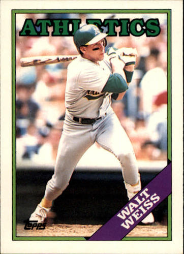Photo of 1988 Topps Traded #126T Walt Weiss XRC