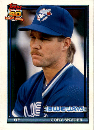 Photo of 1991 Topps Traded #111T Cory Snyder