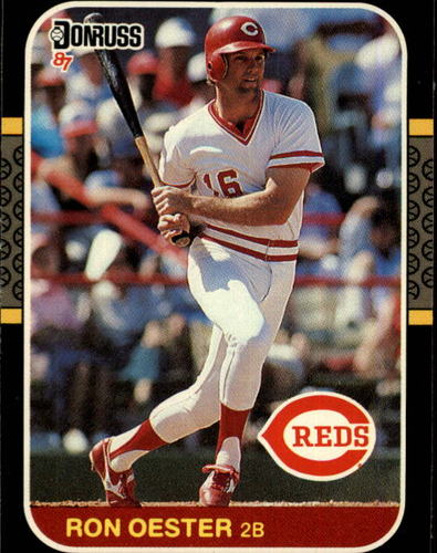 Photo of 1987 Donruss #206 Ron Oester
