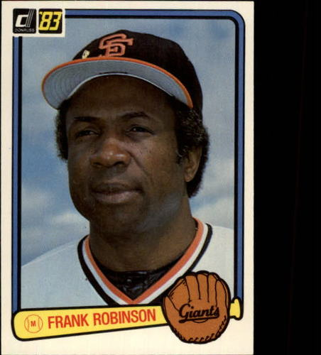 Photo of 1983 Donruss #564 Frank Robinson MG