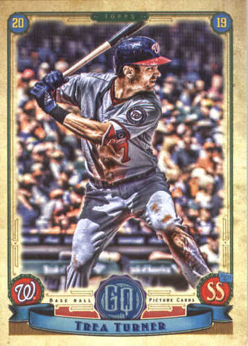 Photo of 2019 Topps Gypsy Queen #271 Trea Turner