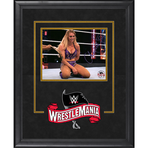 Photo of Charlotte Flair SIGNED WrestleMania 36 Champion's Edition Frame (Random Number)