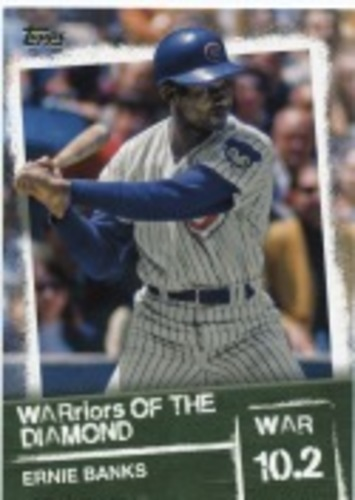 Photo of 2020 Topps Warriors of the Diamond #WOD34 Ernie Banks