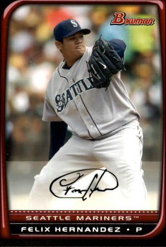 Photo of 2008 Bowman #157 Felix Hernandez