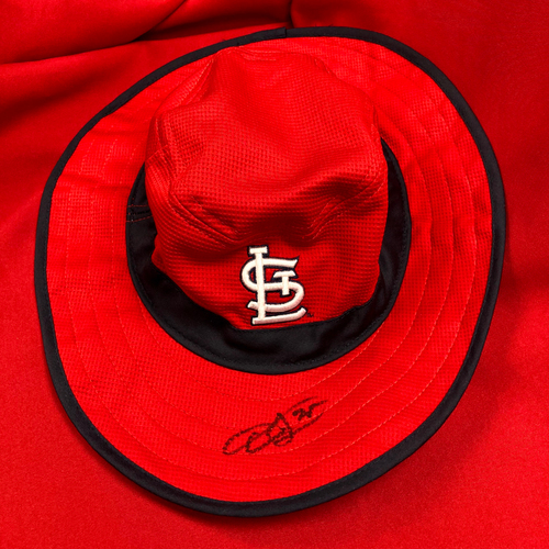 Photo of Dexter Fowler Autographed Bucket Hat
