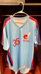 Photo of Jacksonville Expos Fauxback Jersey #35 Size 50