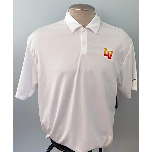 Photo of UMPS CARE AUCTION: Las Vegas Aviators Logo White Nike Golf Shirt, Size XL