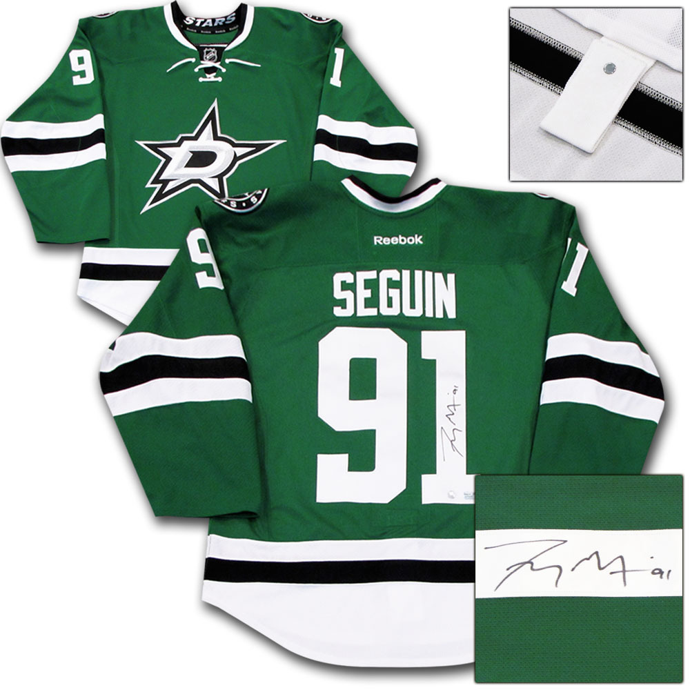 Tyler Seguin Autographed Dallas Stars Authentic Pro Jersey