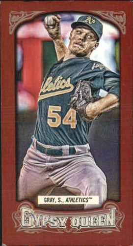 Photo of 2014 Topps Gypsy Queen Mini Red #337 Sonny Gray