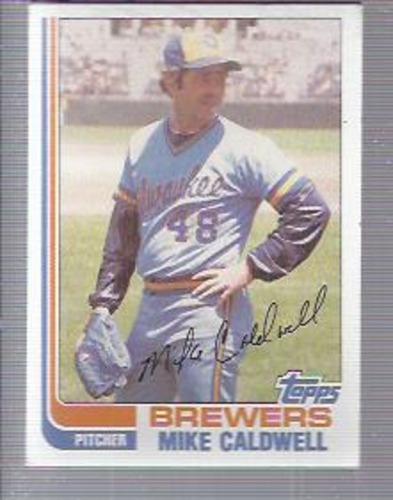 Photo of 1982 Topps #378 Mike Caldwell