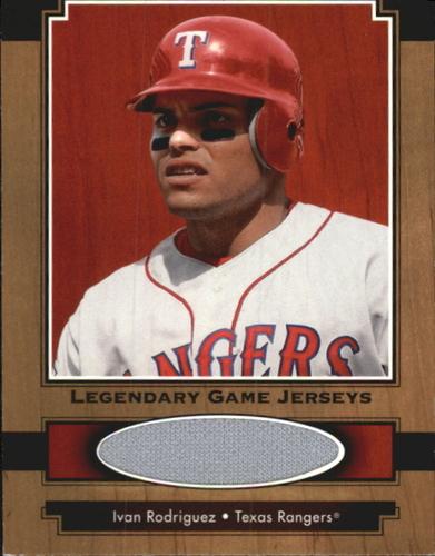 Photo of 2001 Upper Deck Legends Legendary Game Jersey #JIR Ivan Rodriguez DP