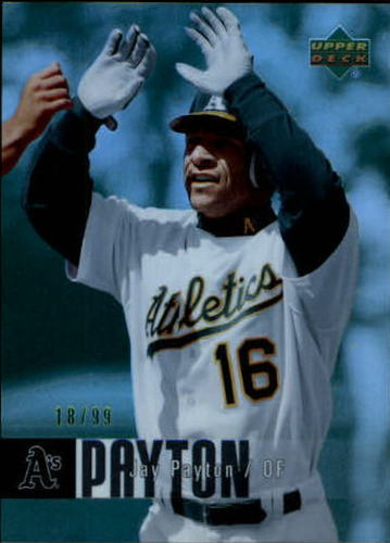 Photo of 2006 Upper Deck Special F/X Green #330 Jay Payton /99