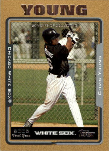 Photo of 2005 Topps Update Gold #304 Chris B.Young FY