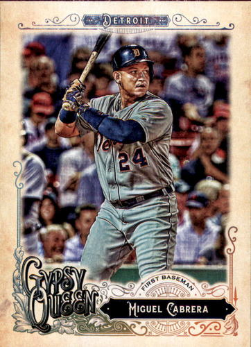 Photo of 2017 Topps Gypsy Queen #10A Miguel Cabrera