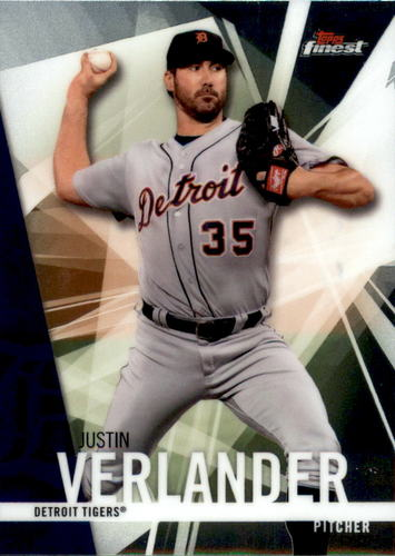 Photo of 2017 Finest #60 Justin Verlander
