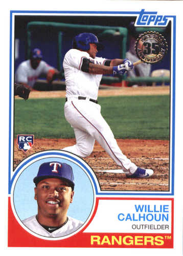 Photo of 2018 Topps '83 Topps #8353 Willie Calhoun
