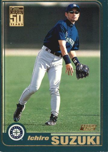 Photo of 2001 Topps #726 Ichiro Suzuki Rookie Card