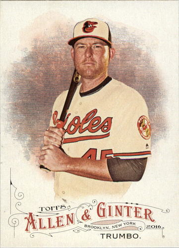 Photo of 2016 Topps Allen and Ginter #15 Mark Trumbo