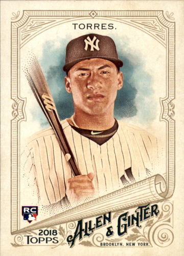 Photo of 2018 Topps Allen and Ginter #240 Gleyber Torres RC