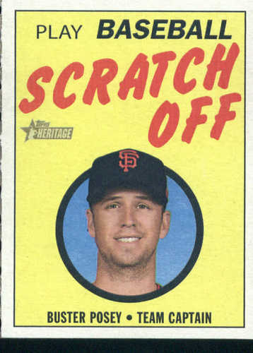 Photo of 2019 Topps Heritage '70 Topps Scratch Offs #11 Buster Posey