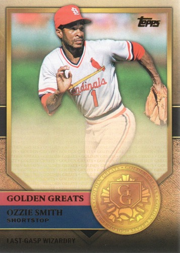 Photo of 2012 Topps Golden Greats #GG91 Ozzie Smith