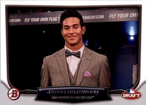 Photo of 2014 Bowman Draft Draft Night #DNJG Jacob Gatewood