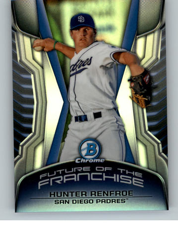 Photo of 2014 Bowman Chrome Draft Future of the Franchise Mini #FFHR Hunter Renfroe