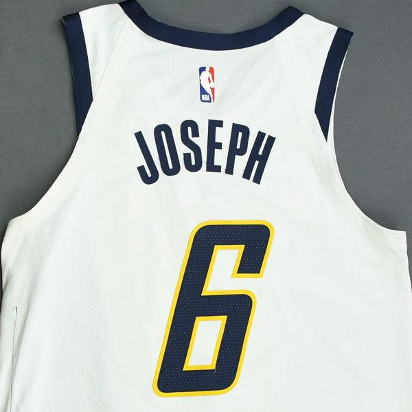 e7a91078d94 Cory Joseph - Indiana Pacers - Game-Worn Earned Edition Jersey - 2019  Playoffs. Current Bid   250.00