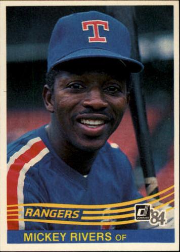 Photo of 1984 Donruss #465 Mickey Rivers