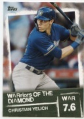Photo of 2020 Topps Warriors of the Diamond #WOD36 Christian Yelich