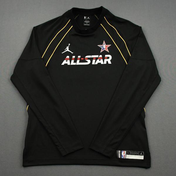 Image of DonovanMitchell - Game-Worn 2021 NBA All-Star Long-Sleeved Shooting Shirt
