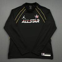 DonovanMitchell - Game-Worn 2021 NBA All-Star Long-Sleeved Shooting Shirt