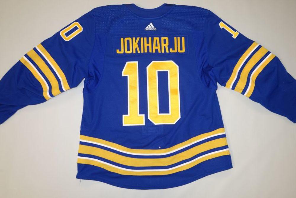 Henri Jokiharju 2020-21 Buffalo Sabres Set 1 Home Jersey