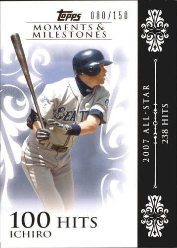 Photo of 2008 Topps Moments and Milestones #63-100 Ichiro Suzuki