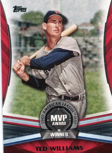 Photo of 2017 Topps Update MVP Award #MVP28 Ted Williams