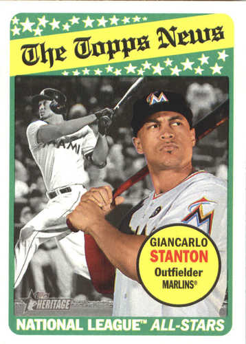 Photo of 2018 Topps Heritage #226 Giancarlo Stanton
