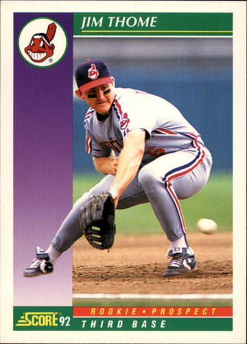 Photo of 1992 Score #859 Jim Thome -- Newest Hall of Famer Class of 2018