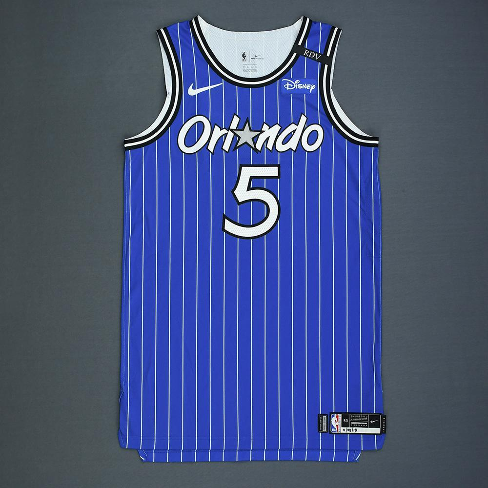 Mo Bamba - Orlando Magic - Game-Worn Classic Edition 1994-98 Alternate Road Jersey - 2018-19 Season