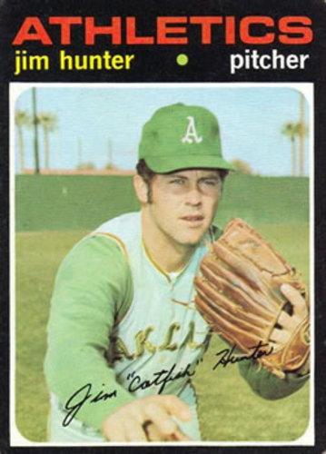 Photo of 1971 Topps #45 Jim Hunter