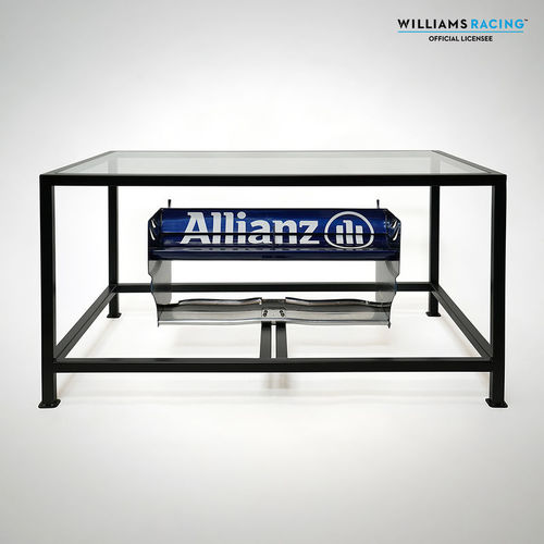 Photo of Williams Wind Tunnel Rear Wing Table