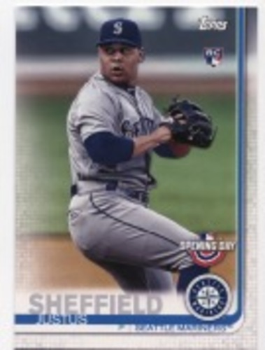 Photo of 2019 Topps Opening Day #88 Justus Sheffield RC