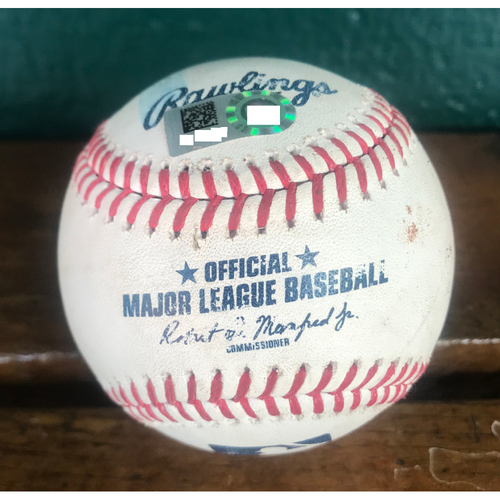 Photo of Cardinals Authentics: Game Used Pitched Baseball by Tyler Webb to Shohei Ohtani *Foul*