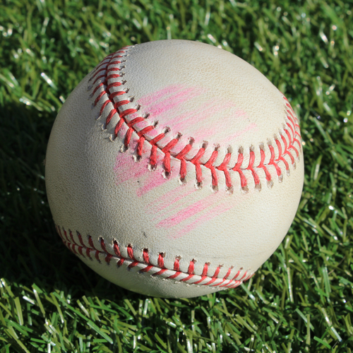Photo of Game-Used Baseball: J.T. Realmuto Foul (5/12/19 - PHI @ KC)
