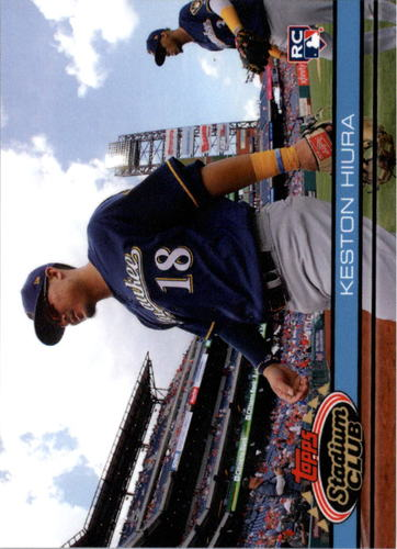 Photo of 2019 Topps Throwback Thursday #126 Keston Hiura/91 Stadium Club BB