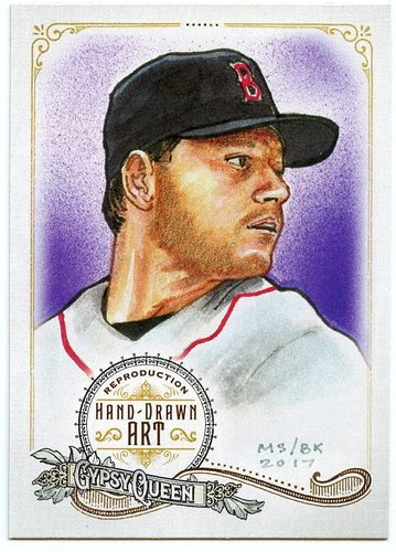 Photo of 2017 Topps Gypsy Queen Hand Drawn Art Reproductions #GQARRCL2 Roger Clemens