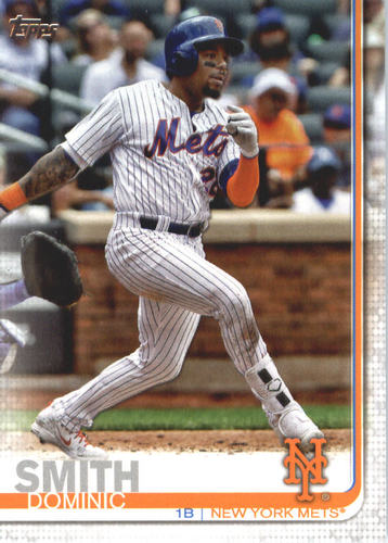 Photo of 2019 Topps #388 Dominic Smith