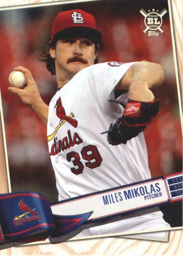 Photo of 2019 Topps Big League #189 Miles Mikolas