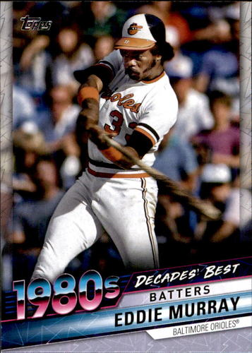 Photo of 2020 Topps Decades' Best #DB46 Eddie Murray