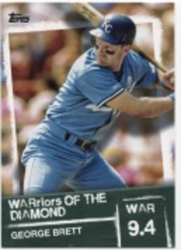 Photo of 2020 Topps Warriors of the Diamond #WOD40 George Brett